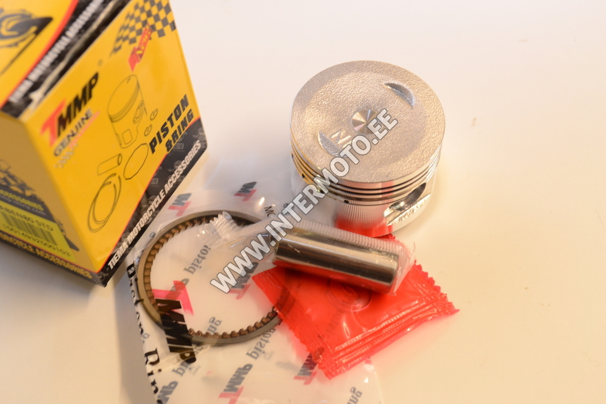 PISTON (PIN, CLIP, RINGS) Ų 47mm 72cc, Racing