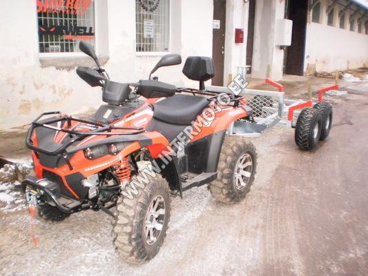 ATV Linhai-Yamaha 400 4x4 Vints 3000lbs+Konks+Metsaveokäru