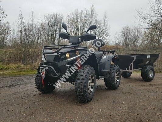 ATV LINHAI-YAMAHA 400 4X4 VINTS 3000LBS+KONKS+JÄRELKÄRU