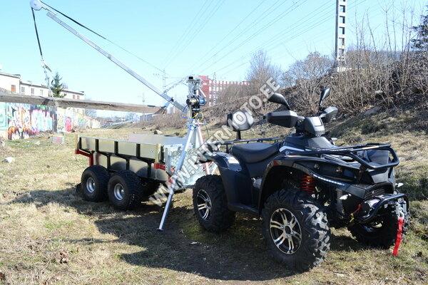 LINHAI-YAMAHA ATV 500cc+Vints+Metsaveokäru kastiga