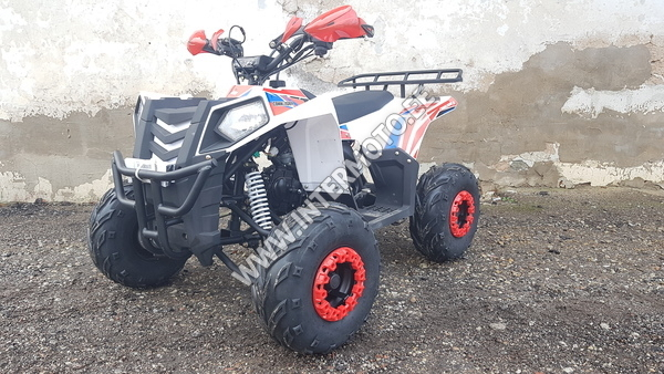 "LASTE ATV APOLLO ORION COMMANDER 125CC F-N-R  7"" Eu4, Valge"