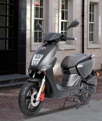 """MOTOROLLER INTERMOTO TAB 50cc """"2021 AASTA MUDEL"""" Täis LED"""