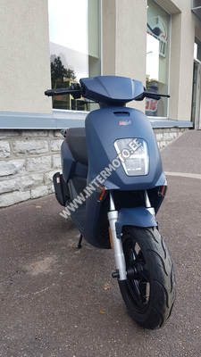 """MOTOROLLER INTERMOTO TAB 50cc """"2021 AASTA MUDEL"""" Täis LED, Sinine"""