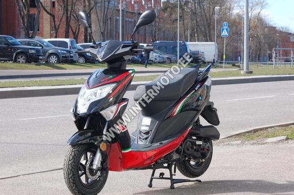 Motoroller Intermoto New Pach, Must